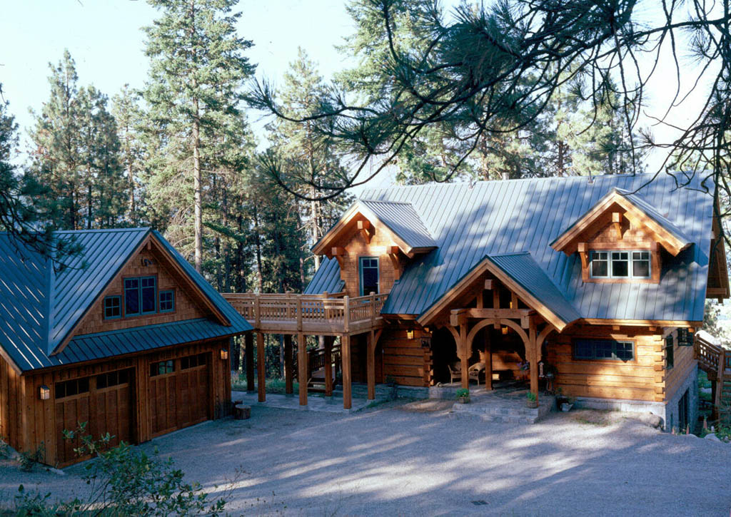 Exterior: Log Homes By Log & Timber Works